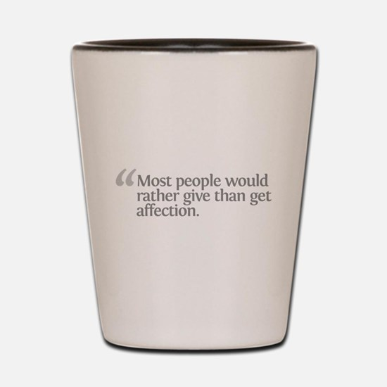Aristotle Most people Shot Glass