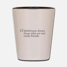 Aristotle Misfortune Shot Glass