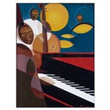 Jazz piano Wrapped Canvas Art