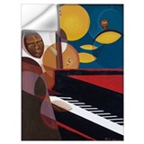Jazz piano Wall Decals