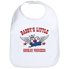 Daddy's Little Korean Princess Bib