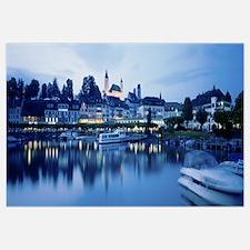 Switzerland, Rapperswil, Lake Zurich
