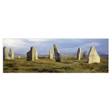 Scotland, Outer Hebrides, Isle of Lewis, Callanish Canvas Art