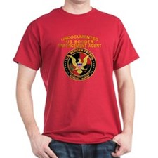 Border Patrol -  Black T-Shirt