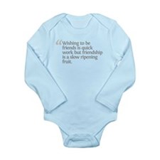 Aristotle Wishing to be frien Long Sleeve Infant B