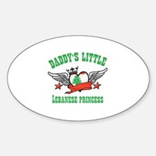 Daddy's Little Lebanese Princess Decal