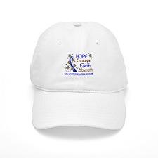 Hope Courage Faith ALS Baseball Cap