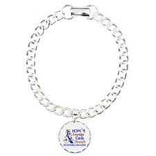 Hope Courage Faith ALS Bracelet