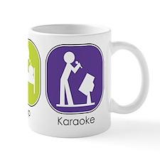 Eat Sleep Karaoke Mug