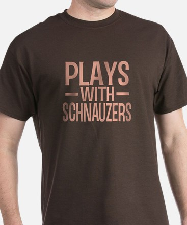 PLAYS Schnauzers T-Shirt