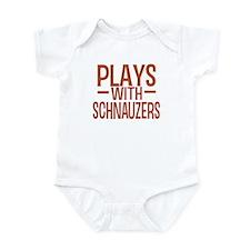 PLAYS Schnauzers Infant Bodysuit