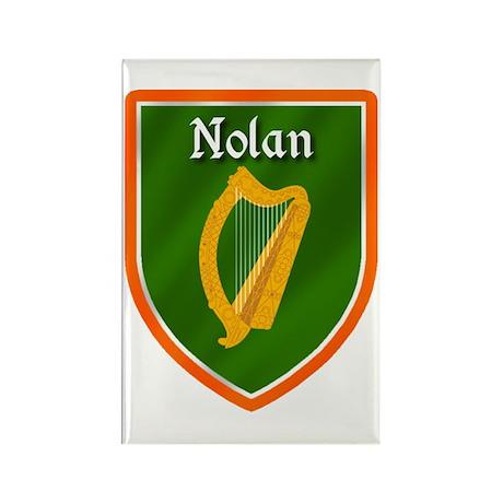 Nolan Family Crest Rectangle Magnet