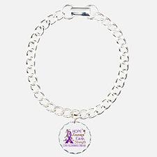 Hope Courage Faith Alzheimers Bracelet