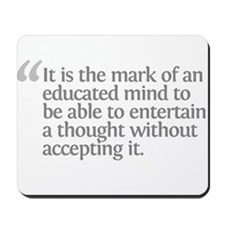 Aristotle It is the mark Mousepad
