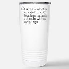 Aristotle It is the mark Travel Mug