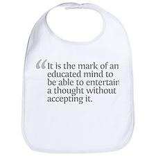 Aristotle It is the mark Bib