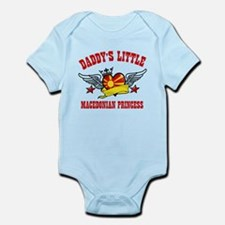 Daddy's Little Macedonian Princess Infant Bodysuit