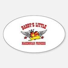 Daddy's Little Macedonian Princess Decal