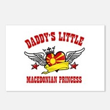 Daddy's Little Macedonian Princess Postcards (Pack