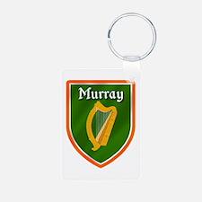 Murray Family Crest Aluminum Photo Keychain