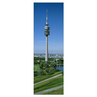 Germany, Munich, Olympic Tower Poster
