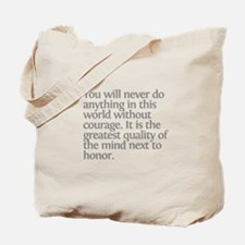 Aristotle You will never Tote Bag