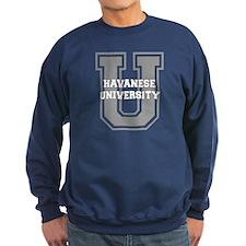 Havanese UNIVERSITY Sweatshirt