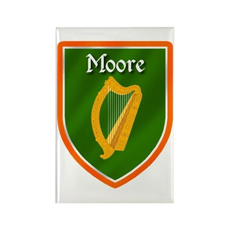 Moore Family Crest Rectangle Magnet