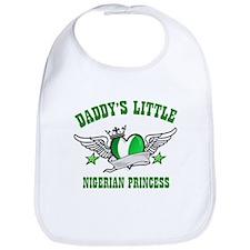 Daddy's Little Nigerian Princess Bib