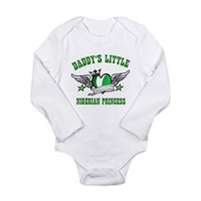 Daddy's Little Nigerian Princess Long Sleeve Infan