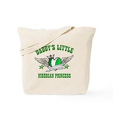 Daddy's Little Nigerian Princess Tote Bag
