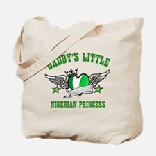 Daddy's Little Nigerian Princess Tote Bag
