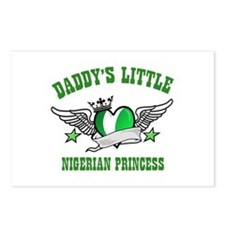 Daddy's Little Nigerian Princess Postcards (Packag