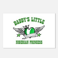 Daddy's Little Nigerian Princess Postcards (Packag