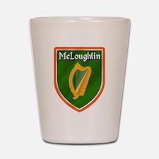 McLoughlin Family Crest Shot Glass