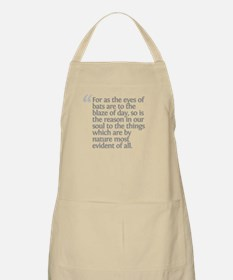 Aristotle For as the eyes Apron