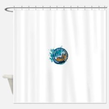 Michigan - Van Buren State Park Shower Curtain