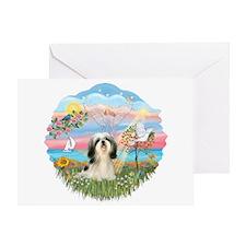 AngelStar/Shih Tzu#3 Greeting Card
