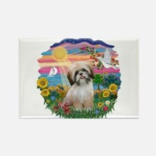 AutumnSun-ShihTzu#13 Rectangle Magnet