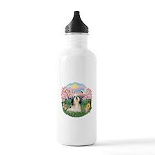 Blossoms-ShihTzu#3 Water Bottle