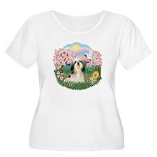 Blossoms-ShihTzu#3 T-Shirt