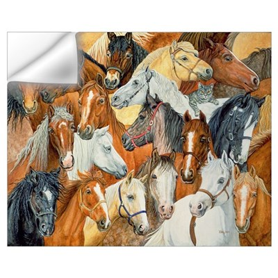 Dee's Horse-Blanket Wall Decal