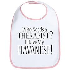 THERAPIST Havanese Bib