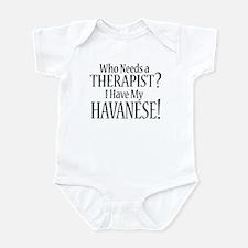THERAPIST Havanese Infant Bodysuit