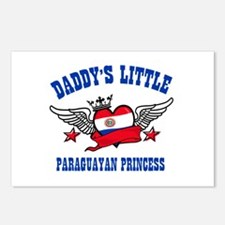 Daddy's Little Paraguayan Princess Postcards (Pack
