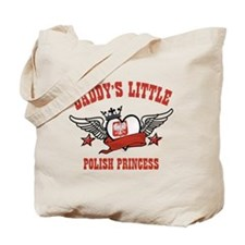 Daddy's Little Polish Princess Tote Bag