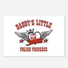 Daddy's Little Polish Princess Postcards (Package