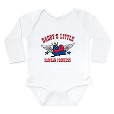 Daddy's Little Samoan Princess Long Sleeve Infant