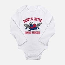 Daddy's Little Samoan Princess Long Sleeve Infant