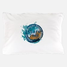 Michigan - Warren Dunes Beach Pillow Case